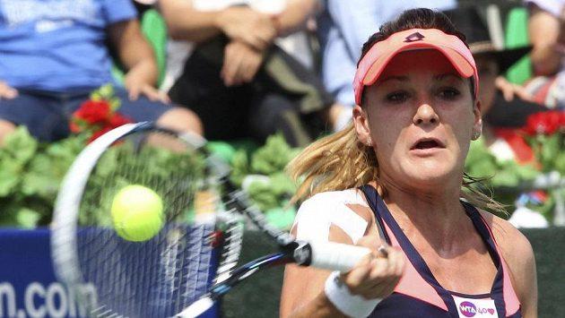 Polská tenistka Radwaňská postoupila na turnaji v Soulu do finále. Tam se potká s Ruskou Pavljučenkovovou.