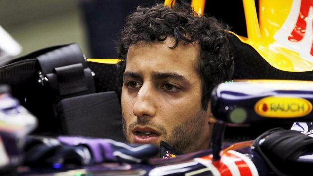 Australský pilot Daniel Ricciardo ze stáje Red Bull.