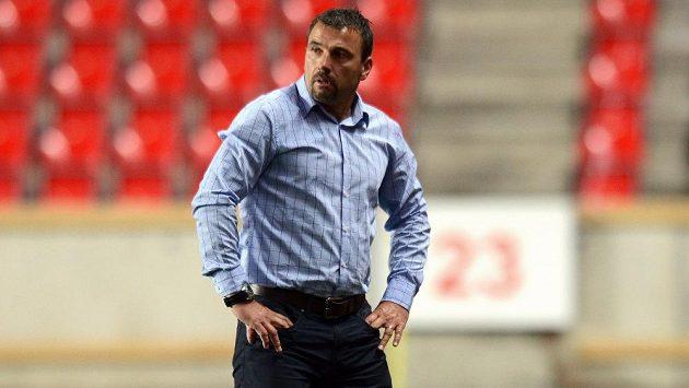 Trenér fotbalistů do 19 let Michal Petrouš