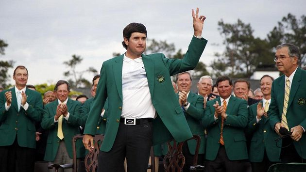 Americký golfista Bubba Watson vyhrál podruhé Masters.