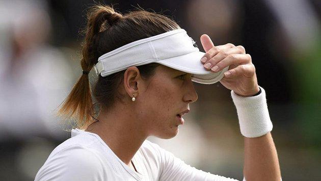 Španělská tenistka Garbině Muguruzaová.