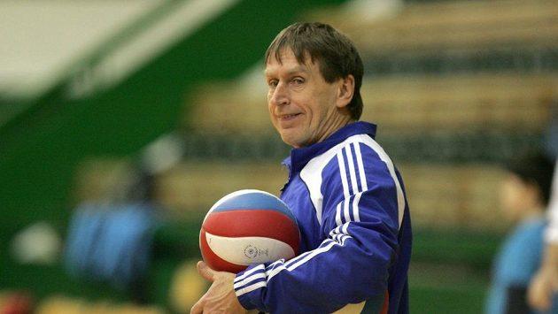 Volejbalový trenér Jiří Teplý na archivním snímku.