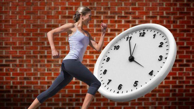 Důležité je si svůj trénink také správně načasovat.