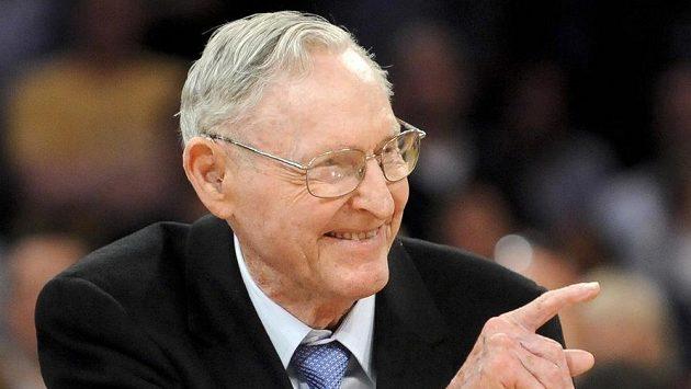Bill Sharman na snímku z dubna roku 2012.