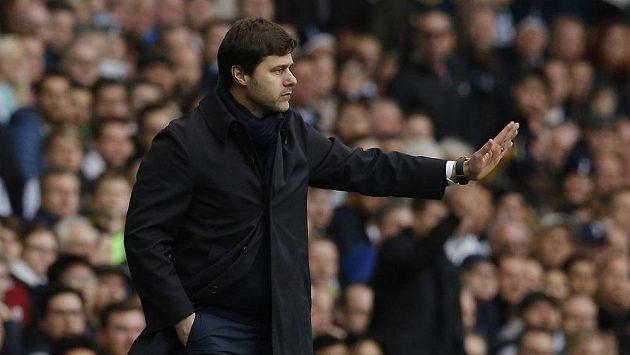 Kouč Tottenhamu Mauricio Pochettino.