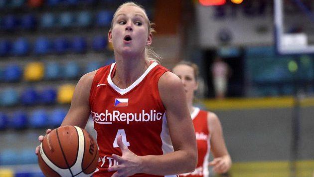 Česká basketbalistka Michaela Stejskalová.