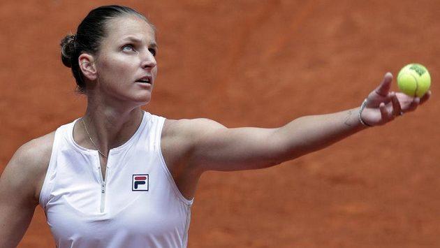 Sestřih 2. kola tenisového turnaje v Madridu mezi Karolínou Plíškovou a Anastasií Pavljučenkovovou