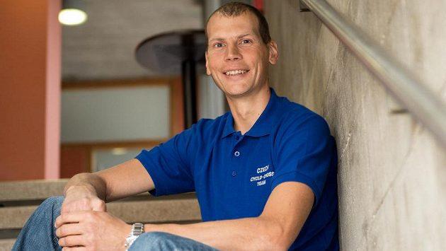 Trenér cyklokrosové reprezentace Petr Dlask.