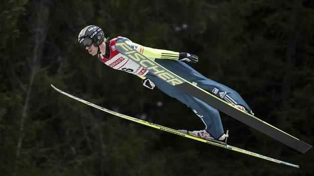 Roman Koudelka při závodě SP v Trondheimu.