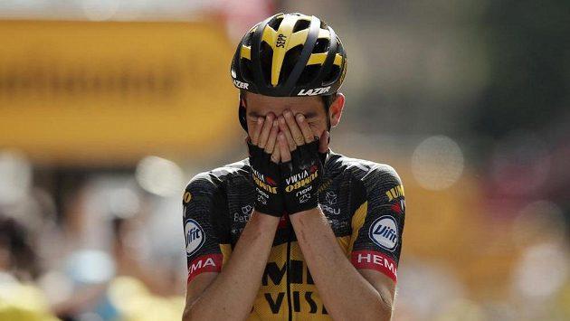 Sepp Kuss se v 15. etapě stal prvním americkým vítězem na Tour po deseti letech