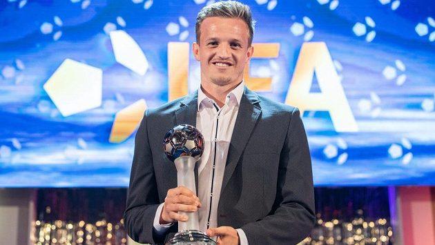 Nejlepší hráč sezony 2017/2018 Jan Kopic.
