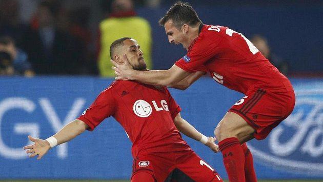 Fotbalisté Leverkusenu - ilustrační fotografie