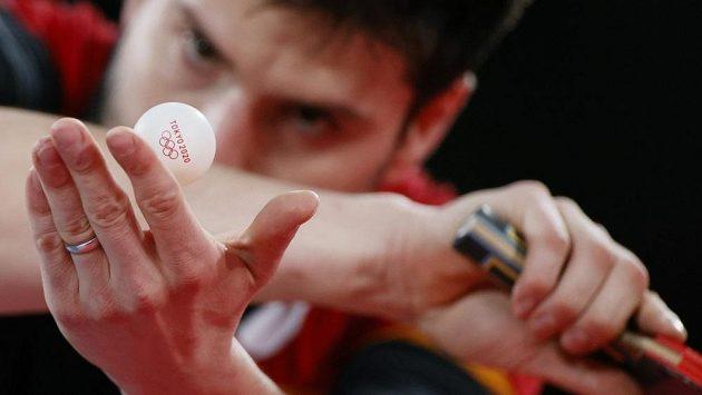 Olympijského turnaje ve stolním tenisu se měli účastnit tři Češi. Ilustrační foto.