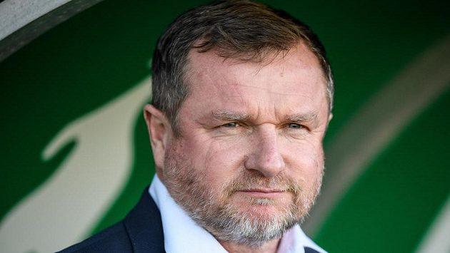 Trenér Viktorie Plzeň Pavel Vrba ještě pořád pokukuje po první příčce...