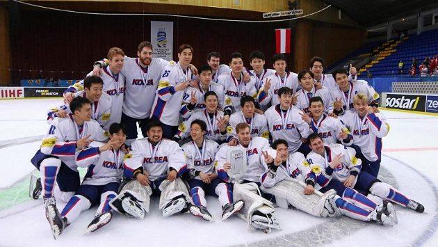 Hokejový tým Jižní Korey.
