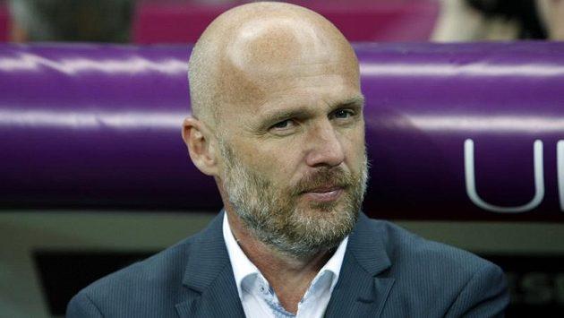 Trenér české fotbalové reprezentace Michal Bílek