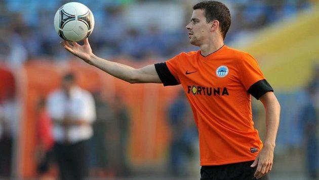 Ondřej Kušnír ještě v dresu Slovanu Liberec.