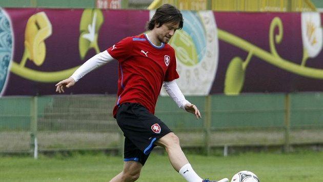 Tomáš Rosický už trénuje s prvním týmem Gunners.