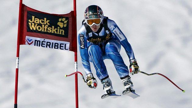 Španělka Carolina Ruizová během závodu SP ve francouzském Méribelu.