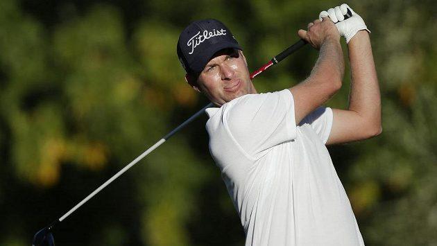 Americký golfista Webb Simpson na turnaji Shriners Hospitals for Children Open.