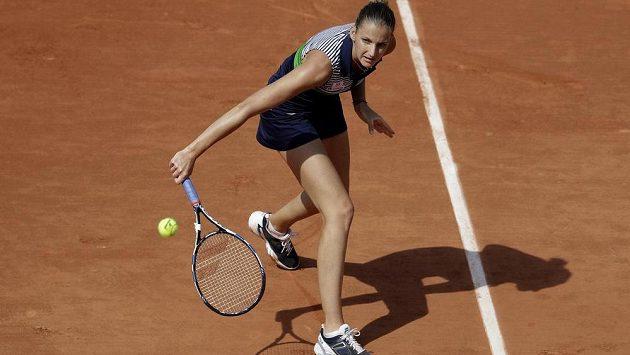 Karolína Plíšková může být zatím v Paříži spokojená. Bude to platit i po dalším utkání?