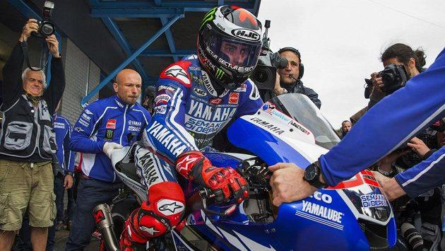 Španělský motocyklista Jorge Lorenzo.