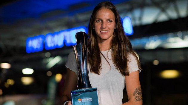 Karolína Plíšková vyhrála turnaj v Brisbane.