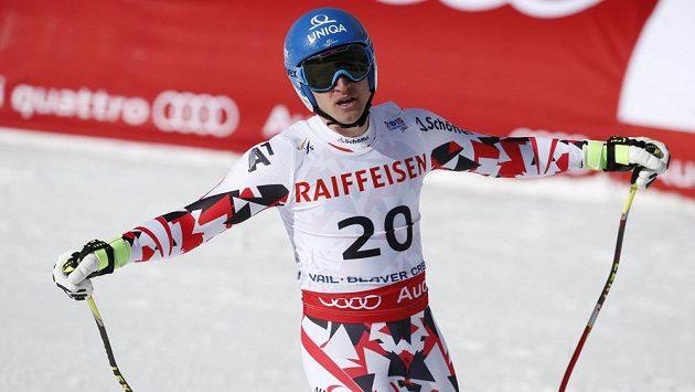Rakouský závodník Matthias Mayer.