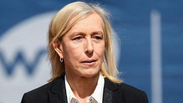 Tenisová legenda Martina Navrátilová.