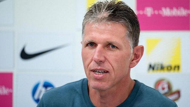 Trenér Slovanu Liberec Jaroslav Šilhavý.