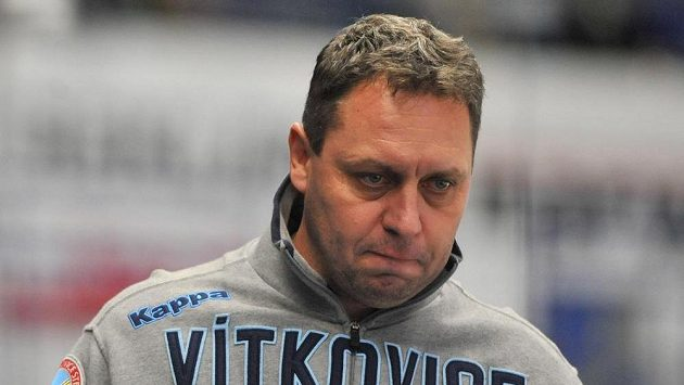 Zklamaný trenér Vítkovic Peter Oremus.