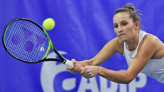 Trumf I. ČLTK Praha ve finále tenisové extraligy smíšených družstev - Markéta Vondroušová.