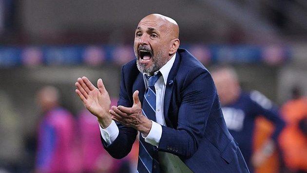 Luciano Spalletti ještě jako kouč Interu.