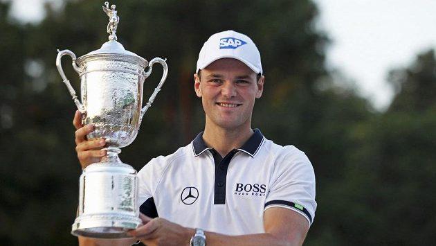 Německý golfista Martin Kaymer, vítěz prestižního US Open.