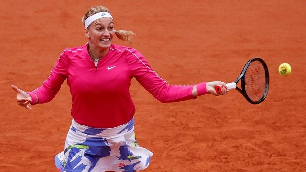 Petra Kvitová na French Open.