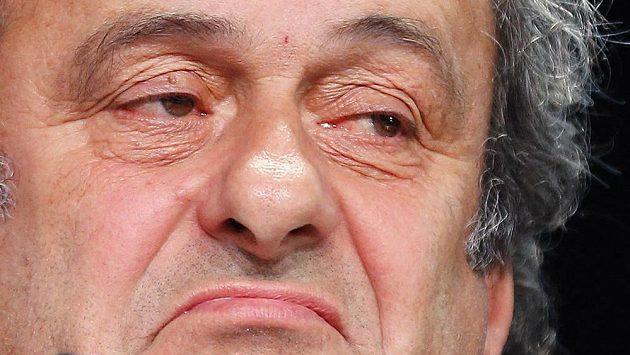 Michel Platini na snímku z května 2015.