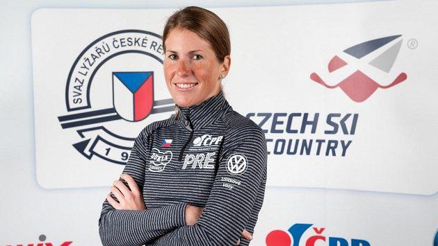 Běžkyně na lyžích Kateřina Smutná.