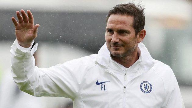 Manažer fotbalistů Chelsea Frank Lampard.