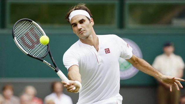 Švýcarský tenista Roger Federer čelil otázkám na tělo.