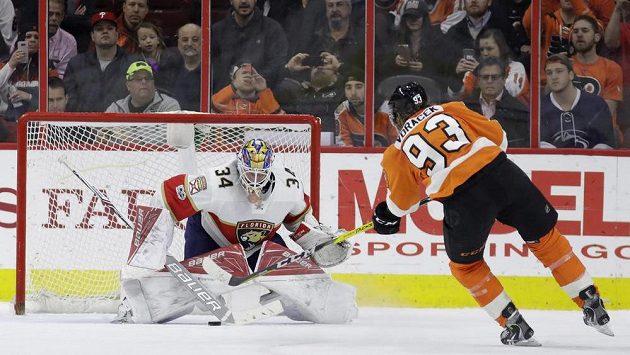 Český útočník Jakub Voráček rozhodl v samostatných nájezdech o výhře Philadelphie Flyers nad Floridou Panthers. Brankář James Reimer neměl nárok.