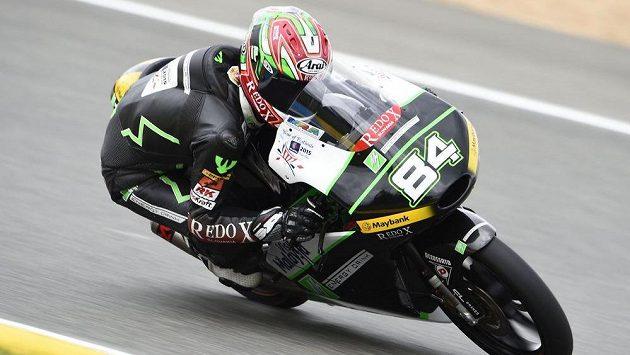 Motocyklový závodník Jakub Kornfeil, ilustrační foto