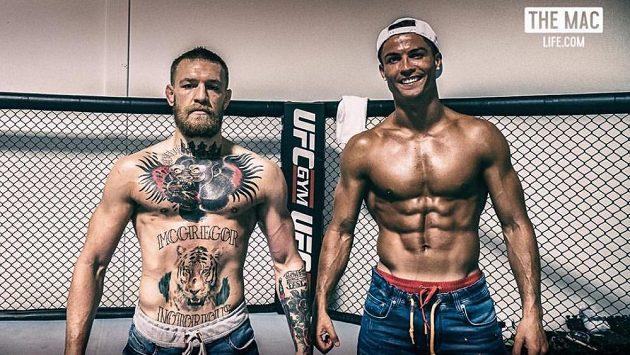 Dva, kteří ví, jak se prodat. Conor McGregor a Cristiano Ronaldo.