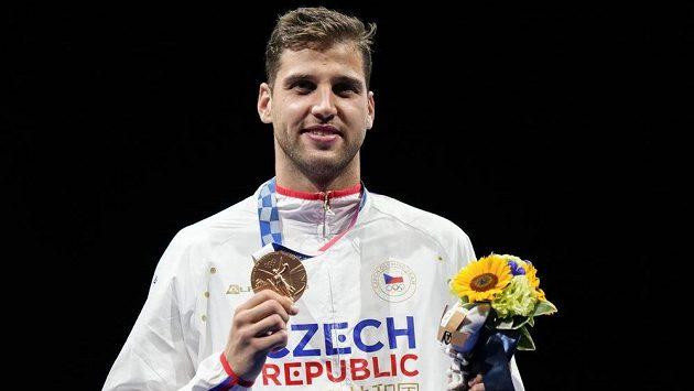 Bronzový olympijský medailista, fleretista Alexander Choupenitch.