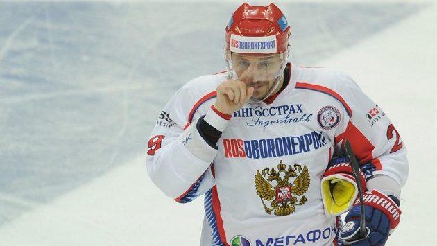 Sergej Fjodorov v dresu ruské reprezentace.