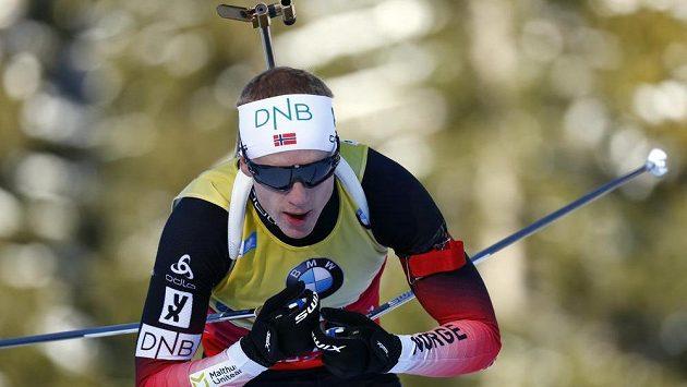 Nor Johannes Thingnes Bö zářil při sprintu v Ruhpoldingu.