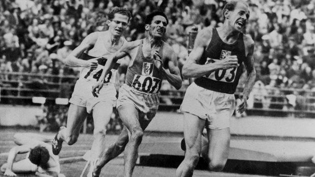 Emil Zátopek byl zkrátka jiný, rychlý, odvážný.
