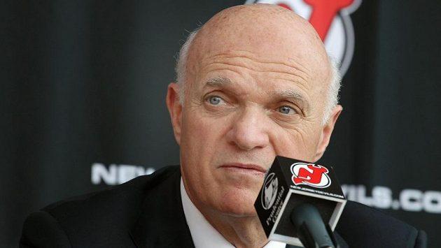 Odvolaný manažer New Jersey Devils Lou Lamoriello