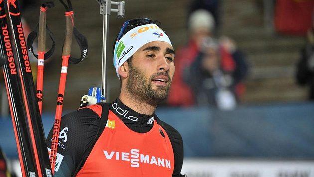 Fenomenální francouzský biatlonista Martin Fourcade slaví v Östersundu další triumf ve Světovém poháru.