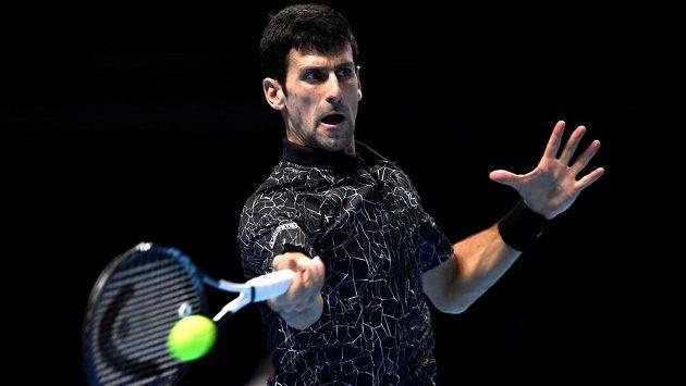 Srbský tenista Novak Djokovič nezaváhal ani ve třetím vystoupení na Turnaji mistrů.