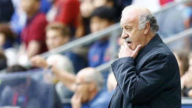 Trenér Vicente del Bosque končí na lavičce španělských fotbalistů.
